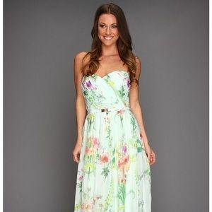 Serlant Wallpaper Floral Pleated Dress